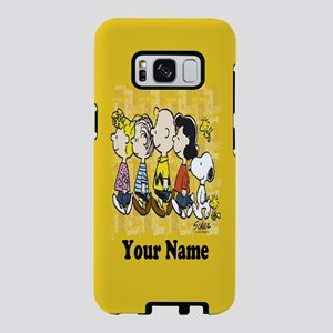 Peanuts Walking Personalize Samsung Galaxy S8 Case