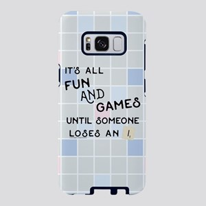 Scrabble All Fun and Games Samsung Galaxy S8 Case