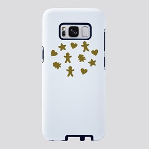 gingerbread cookies Samsung Galaxy S8 Case