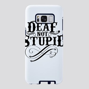 Funny Deaf Design Gift for Samsung Galaxy S8 Case