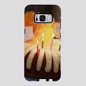 birthday bundt cake Samsung Galaxy S8 Case