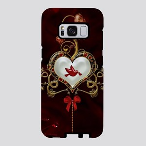 Wonderful hearts with dove Samsung Galaxy S8 Case