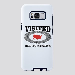 red visited the USA Samsung Galaxy S8 Case