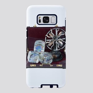 Briefcase with blocks of ic Samsung Galaxy S8 Case