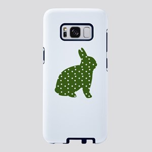 Green Polka Dot Rabbit Samsung Galaxy S8 Case