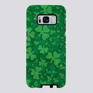 Shamrock Pattern Samsung Galaxy S8 Case