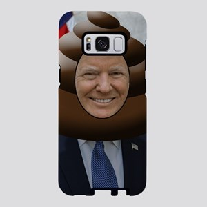 Funny Trump Poop Emoji Head Samsung Galaxy S8 Case