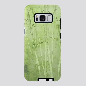 Green Bamboo Stalks Samsung Galaxy S8 Case