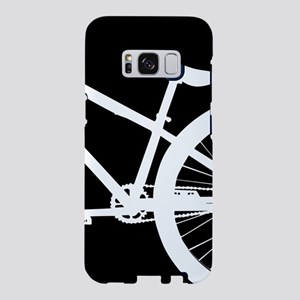 Black and White Bike Samsung Galaxy S8 Case