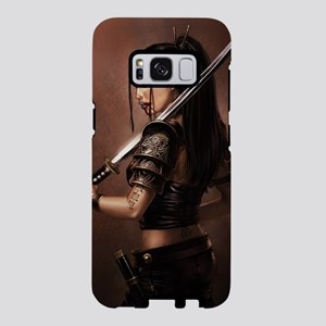 Woman Assassin With Sword Samsung Galaxy S8 Case
