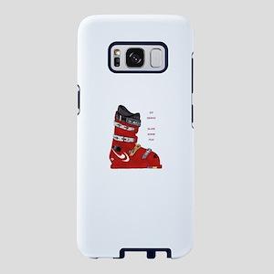 ski boot Samsung Galaxy S8 Case