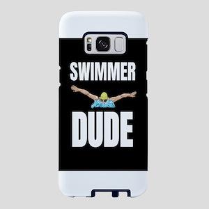 Swimmer Dude Swimming Team Samsung Galaxy S8 Case