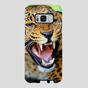 Growling Leopard Samsung Galaxy S8 Case