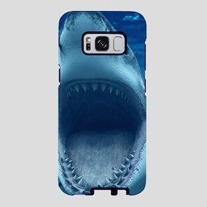 Big White Shark Jaws Samsung Galaxy S8 Case