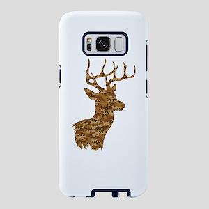 Brown Camo Deer Samsung Galaxy S8 Case