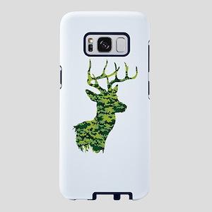 Green Camo Deer Samsung Galaxy S8 Case