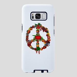 Veggie Peace Sign Samsung Galaxy S8 Case
