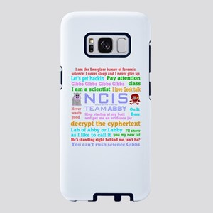 NCIS Abby Quotes Samsung Galaxy S8 Case