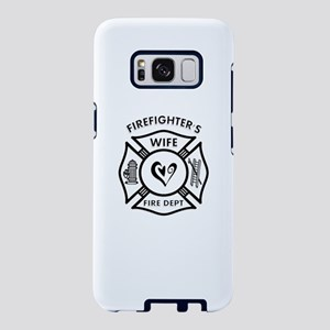 Firefighter Wife Samsung Galaxy S8 Case