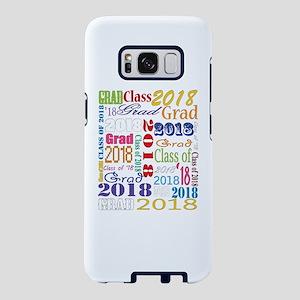 2018 Graduation Typography Samsung Galaxy S8 Case