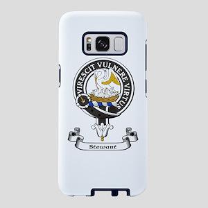 Badge-Stewart Samsung Galaxy S8 Case