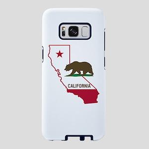 CALI STATE w BEAR Samsung Galaxy S8 Case