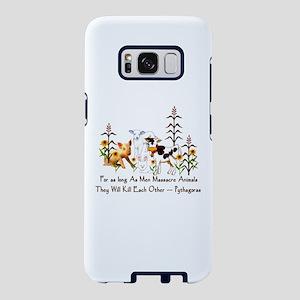 Pythagoras Vegetarian Quote Samsung Galaxy S8 Case