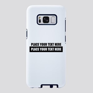 Text message Customized Samsung Galaxy S8 Case