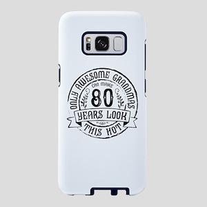 Grandma 80th Bday Samsung Galaxy S8 Case