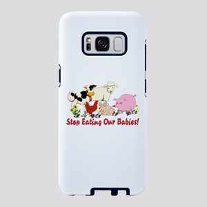 Stop Eating Our Babies Samsung Galaxy S8 Case