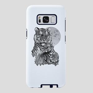 Tiger and Cub (B/W) Samsung Galaxy S8 Case