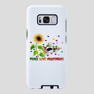 Peace Love Vegetables Samsung Galaxy S8 Case