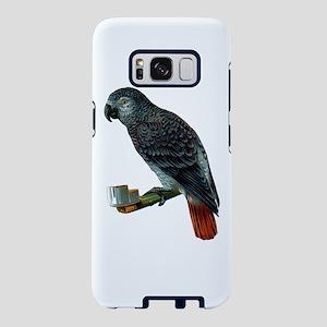 Gray Parrot Samsung Galaxy S8 Case