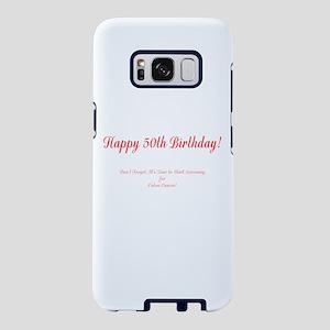 50th Birthday Get a Colonos Samsung Galaxy S8 Case