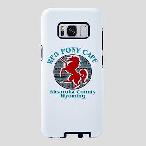 Red Pony Cafe Samsung Galaxy S8 Case