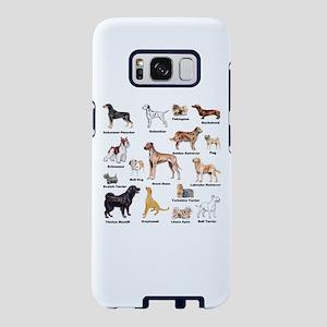Dog Types Samsung Galaxy S8 Case