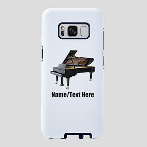 Piano Music Personalized Samsung Galaxy S8 Case