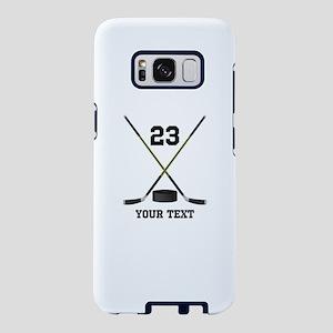 Ice Hockey Personalized Samsung Galaxy S8 Case