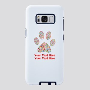 Dog Paw Print Customize Samsung Galaxy S8 Case