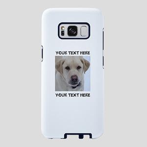 Dog Labrador Retriever Yell Samsung Galaxy S8 Case