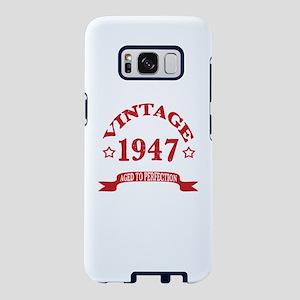 Vintage 1947 Aged To Perfec Samsung Galaxy S8 Case