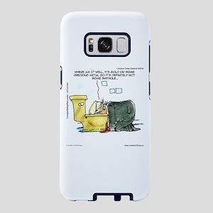Trump & Gold Toilet Throne Samsung Galaxy S8 C