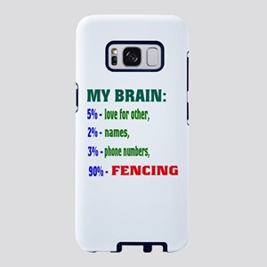 My Brain, 90% Fencing Samsung Galaxy S8 Case