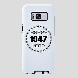 Happy 1947 Year Designs Samsung Galaxy S8 Case