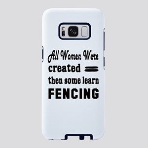 Fencing Martial Arts Samsung Galaxy S8 Case