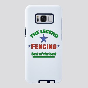 The Legend Fencing Sports D Samsung Galaxy S8 Case