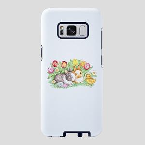 Easter Bunnies, Duckling Samsung Galaxy S8 Case