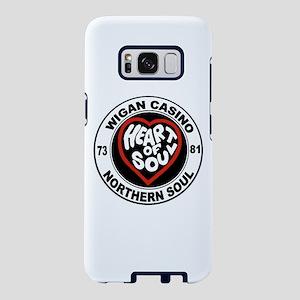 Retro wigan Casino mod nort Samsung Galaxy S8 Case