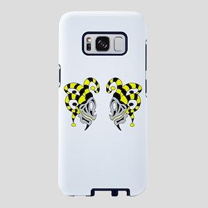 Two Skull Jokers Samsung Galaxy S8 Case