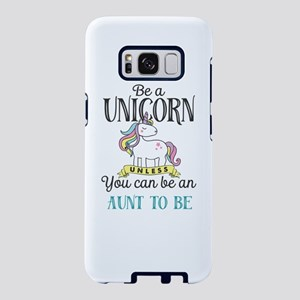 Unicorn AUNT TO BE Samsung Galaxy S8 Case